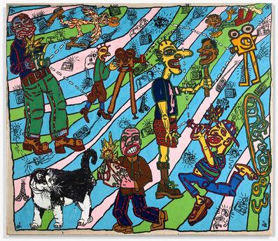 Robert Combas, 'Le journal télévisé ', 1983