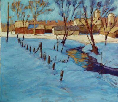 Tim McGuire, 'Evening Shadows, Vermont', 2020
