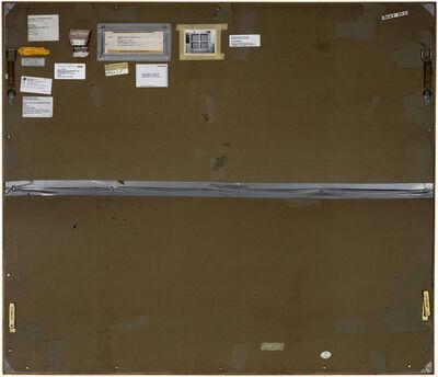 Philippe Gronon, 'Verso n°25, Stretcher Frame with cross bars III, par Roy Lichtenstein, collection particulière, New York', 2013