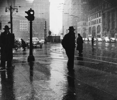 Arthur Leipzig, 'Rain', 1945