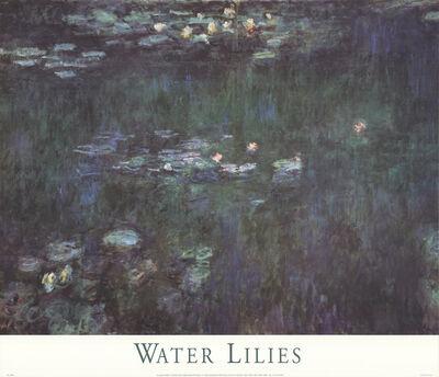 Claude Monet, 'Waterlilies: Green Reflections II', 1998