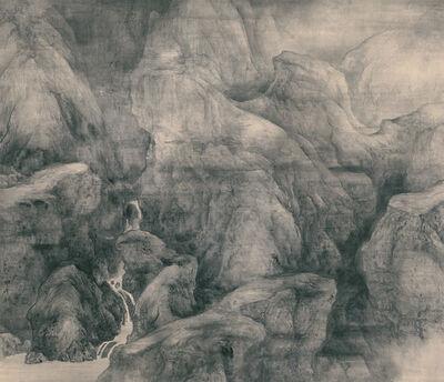 Tai Xiangzhou 泰祥洲, 'Misty Creek and Hills', 2014