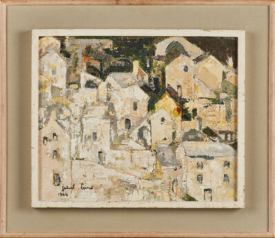 """Gabriel Loire, '""""Village Au Lozere""""', 1964"""