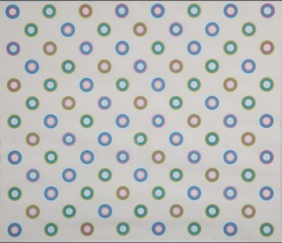 Bridget Riley, 'Encircling Disks'
