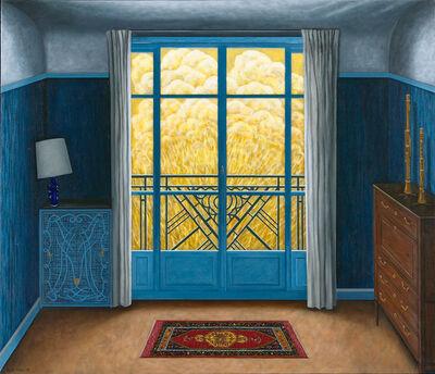 Scott Kahn, 'Blue Bedroom ', 2020