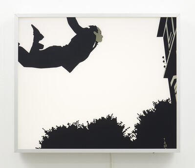 Kota Ezawa, 'Leap into the Void from The History of Photography Remix', 2005