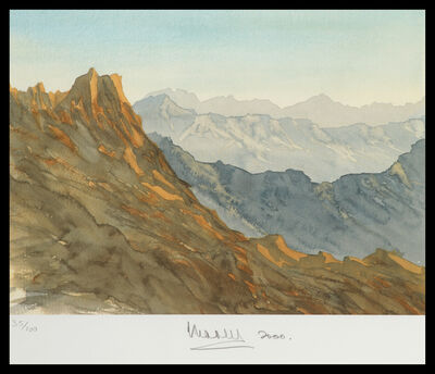 HRH Prince of Wales, 'Overlooking Wadi Arkham, Kingdom of Saudi Arabia', 2000