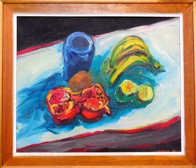 George Chemeche, 'Still Life Tabletop with Fruit', 1960-1969
