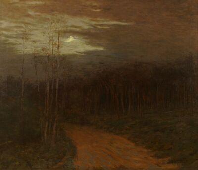 Ben Foster, 'Moonlit Road', ca. 1900