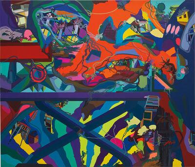 Franz Ackermann, 'Transit', 2012