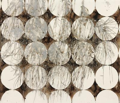 Katina Huston, 'Katagami Series: Silver Pine Over Circles', ca. 2014