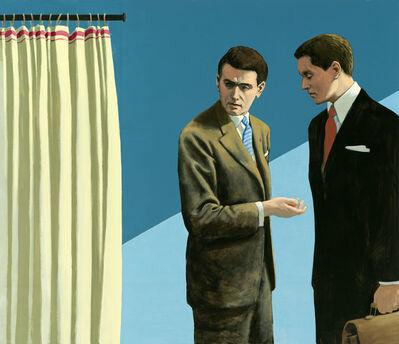 Christian Brandl, 'Das Gespräch', 2014