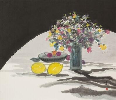 Minol Araki, 'Table with Flower Vase, Platter of Cherries, and Lemons (MA-294)', 1977