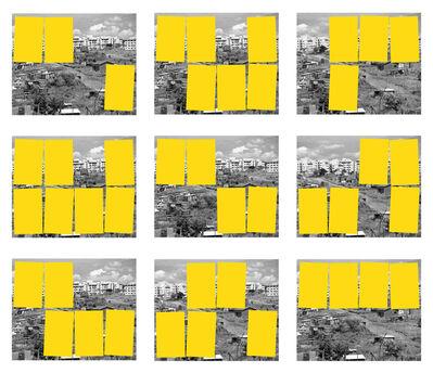 Sergio Vega, 'Paisaje Social (serie metaesquema lúdico: coberturas y descubrimientos)', 2018