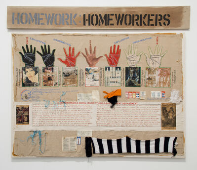 Margaret Harrison, 'Homeworkers