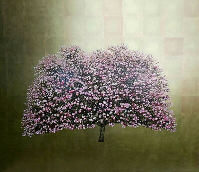 Jack Frame, 'Falling Angel, Flowering Cherry Blossom', 2019