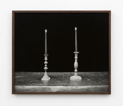 Melanie Schiff, 'Two Candles, Black', 2018