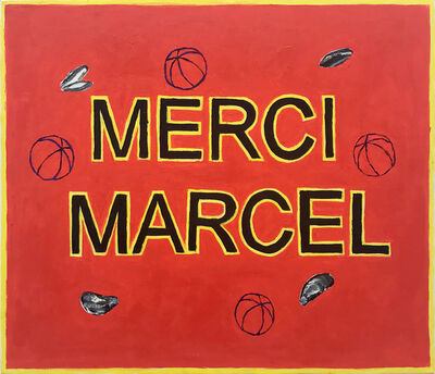 Antoine Goossens, 'Merci Marcel', 2018