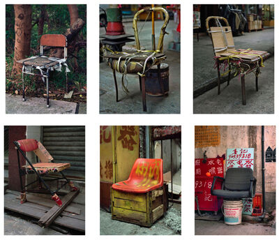 Michael Wolf (b. 1954), '#4, Hong Kong Bastard Chair 1, MFT group', 2014