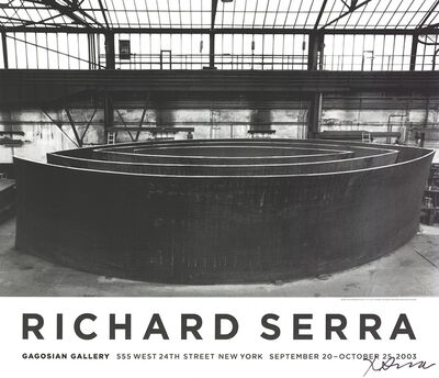 Richard Serra, 'Blindspot', 2003