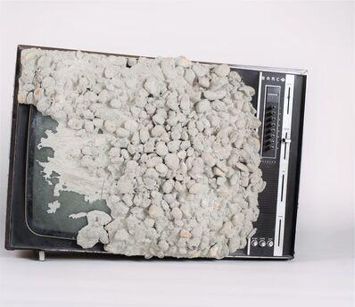 Wolf Vostell, 'Beton-TV / Concrete TV', 1980