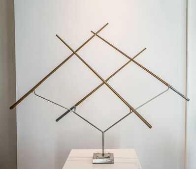 "George Rickey, '""Four Lines Oblique""', 1998"