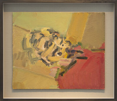 Frank Auerbach, 'Reclining Head of Julia II', 2011