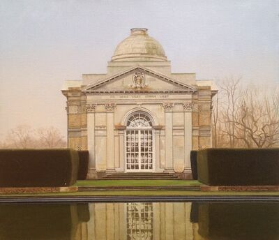 Carl Laubin, 'Bathing Pavilion, Tyringham'