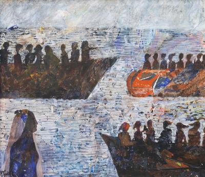 Tayseer Barakat, 'Shoreless Sea #4', 2019