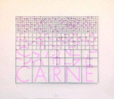 Paola Di Bello, 'Carne (Meat)', ca. 1980