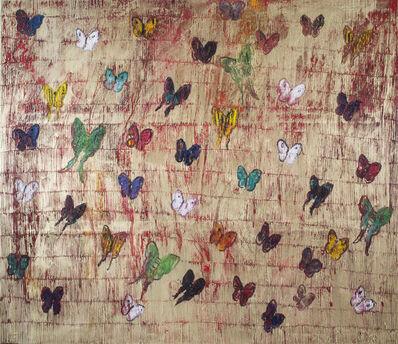 Hunt Slonem, 'Untitled (Butterflies)', 2017