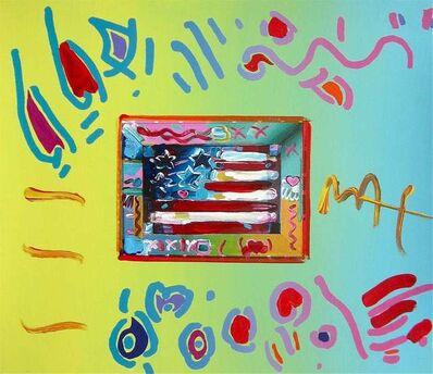 Peter Max, 'Flag', 1997