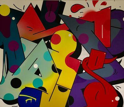 Moses & Taps™, 'Image of Graffiti No. 6', 2017