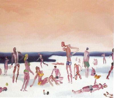 Alessandro Banzan, 'Snow Beach', 2008