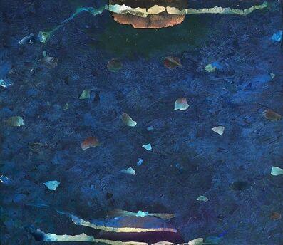 Stanley Boxer, 'Bluewhatareyoudoinghere', 1997