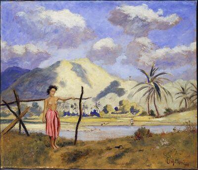 Louis Michel Eilshemius, 'Samoa', 1907
