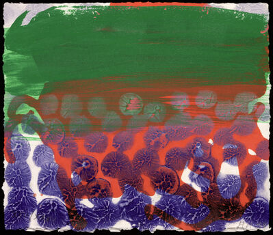 Howard Hodgkin, 'In a Public Garden', 1998