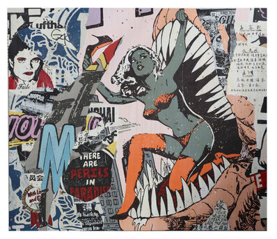 FAILE, 'New York City 02', 2007