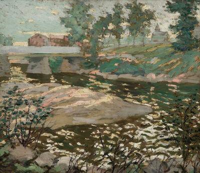 Ernest Lawson, 'Sunlit Stream', ca. 1915