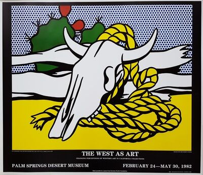 Roy Lichtenstein, 'The West as Art', 1982
