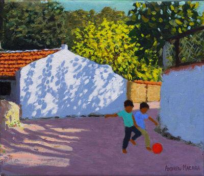 Andrew Macara, 'Football in Bodrum, Turkey'