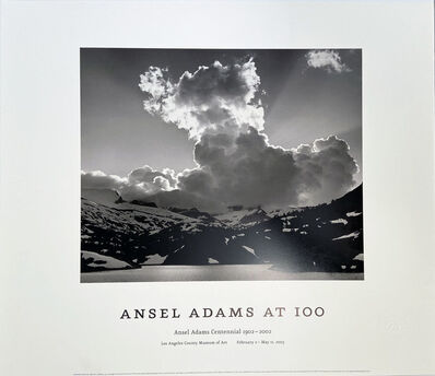 Ansel Adams, 'Ansel Adams at 100, Ansel Adams Centennial 1902-2002, Los Angeles County Museum of Art', 2003