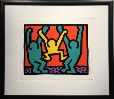 Keith Haring, 'Pop Shop I B', 1987