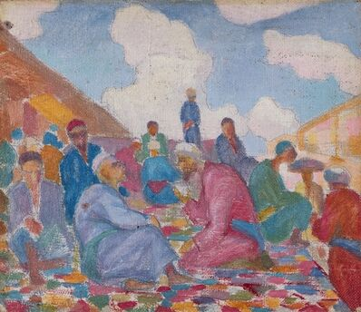 Nikolaj Karahan, 'Conversazione', 1928