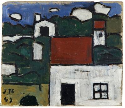 Joaquín Torres-García, 'Paisaje con casas ', 1949