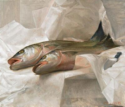 Jacob Collins, 'Striped Bass', 2015