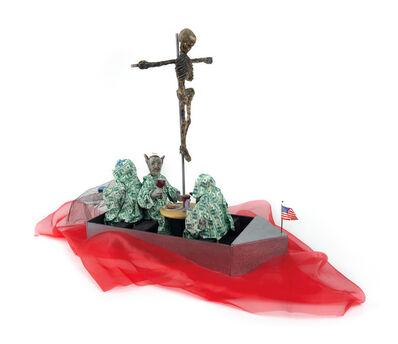 David Wojnarowicz, 'Maquette for the installation Lazaretto', 1990