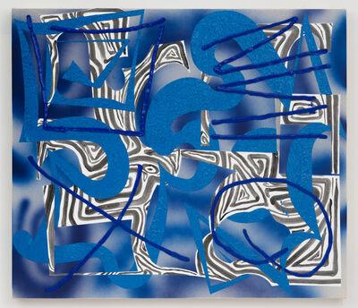 Trudy Benson, 'Blue Path', 2017