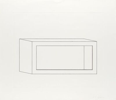Donald Judd, 'Untitled (Schellmann 106)', 1978