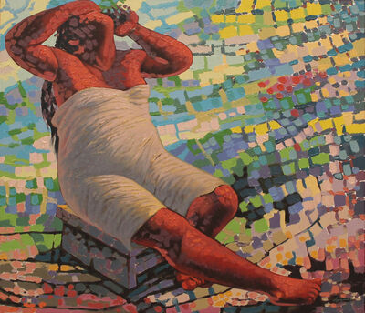 Víctor Argáez, 'El baño', 2018